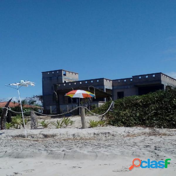 Casa beira mar, balneário barra do sai-guaratuba/pr