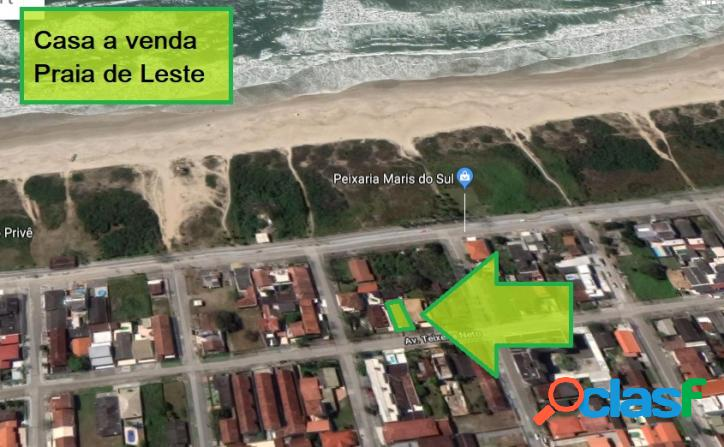 Casa com edicula - praia de leste/pr