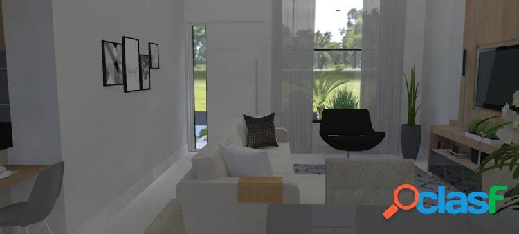 Casa térrea 03 dormitórios no condomínio ibiti reserva