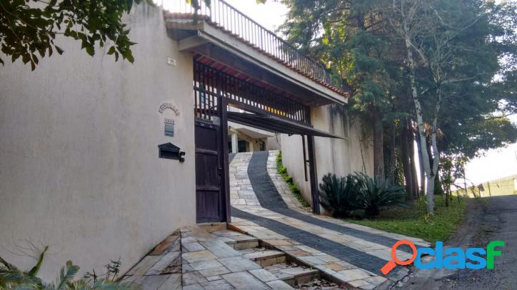 Casa em condomínio sociedade chácaras vale do rio cotia -valor 1.800.000,00