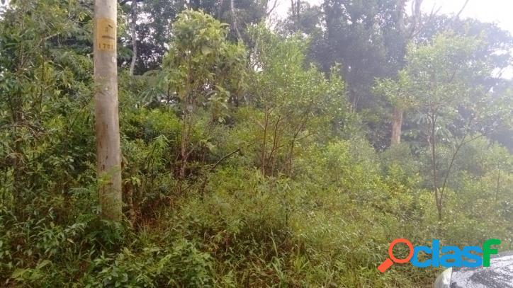 Chácara 1000 m2, valor 70.000,00, caucaia do alto, cotia, sp.