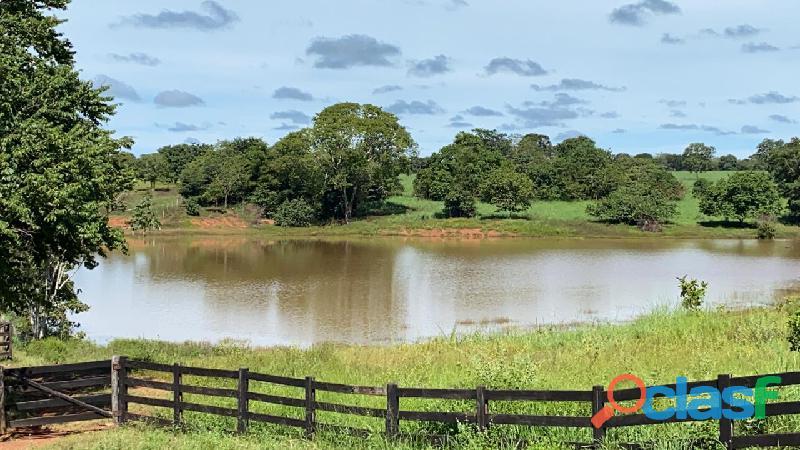 140 alqs formada sede boa represas são miguel do araguaia