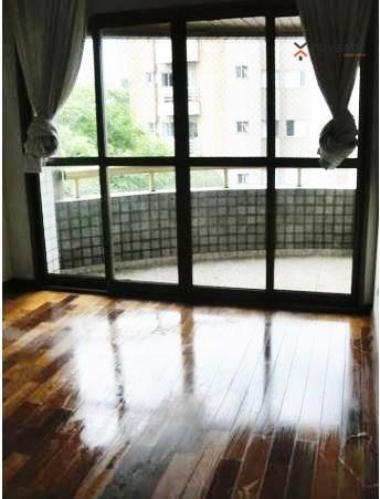 Apartamento com 3 dormitórios para alugar, 120 m² por r$