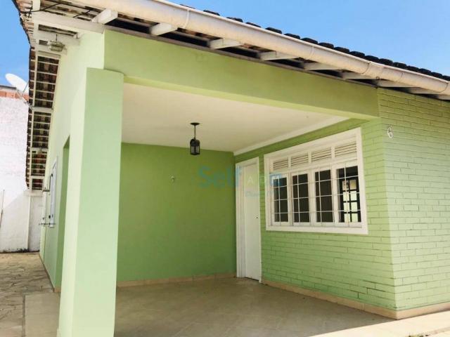 Casa com 2 dormitórios para alugar, 100 m² - maria paula -