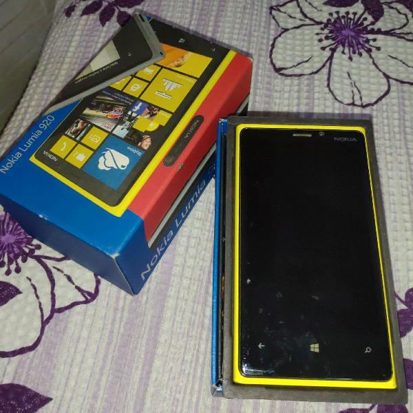 Celular nokia lumia 920 amarelo
