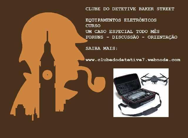 Clube do detetive - compras e aventuras