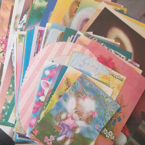 Papéis de carta colecionáveis