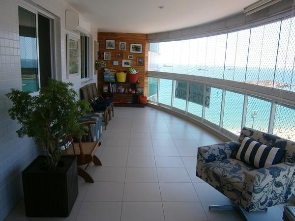 Vende apartamento de 3 quartos na praia da costa, vila velha
