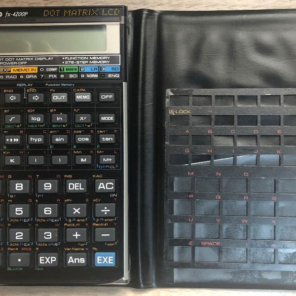 Calculadora científica casio fx-4200p