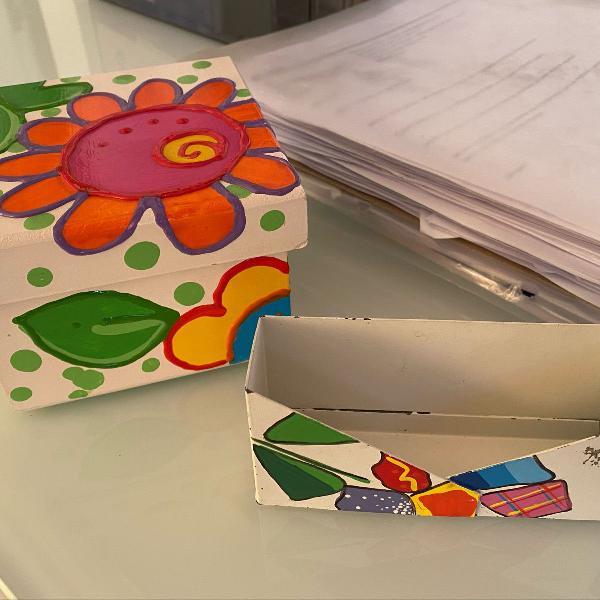Kit porta cartão e caixinha