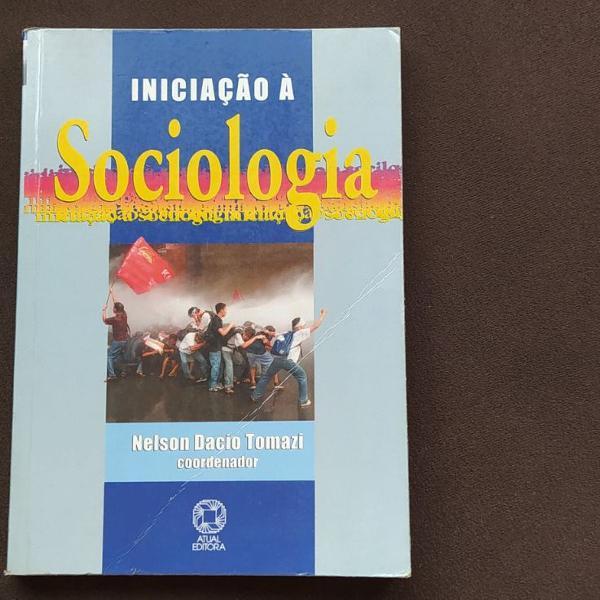 Livro iniciação à sociologia