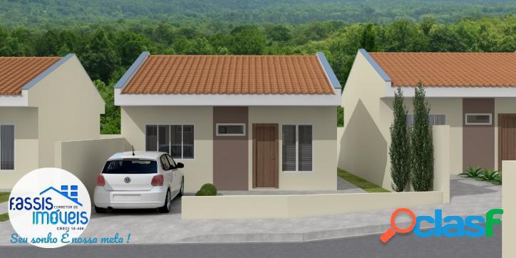 Casas novas 3 dormitórios próximo ao mercado nona rua sem