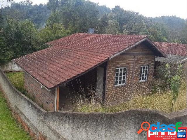 Casa 03 dormitórios, venda direta caixa, bairro centro, braço do trombudo, sc, assessoria gratuita na pinho