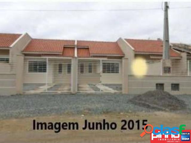 Casa geminada 02 dormitórios, venda direta, bairro itinga, araquari, sc, assessoria gratuita na pinho