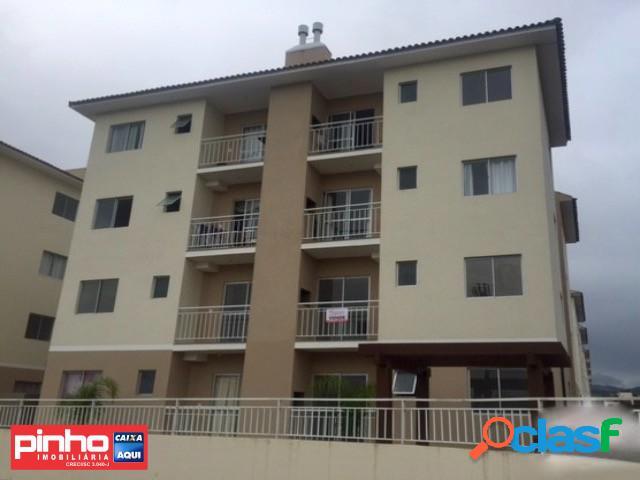 Apartamento 02 dormitórios, residencial ecoville, venda direta caixa, são joão batista, sc