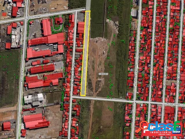 Terreno área total de 4503,83m², venda direta caixa, bairro cordeiros, itajaí, sc, assessoria gratuita na pinho