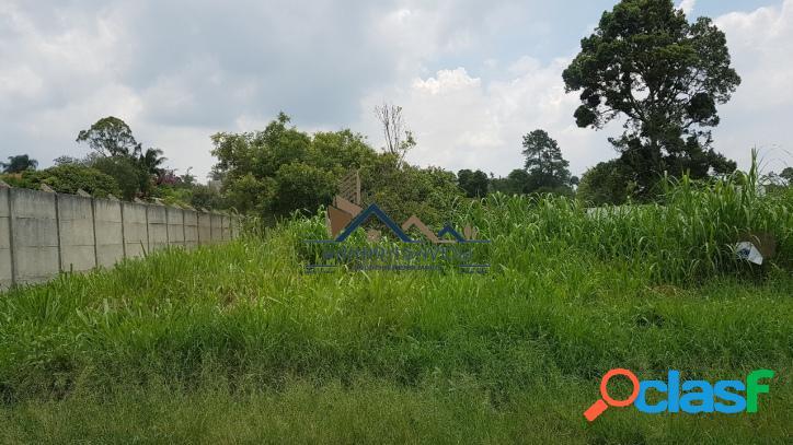 Terreno plano em condomínio alto padrão no km 39 da raposo