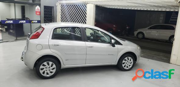 Fiat punto 1.4 fire flex 8v 5p prata 2011 1.4 flex