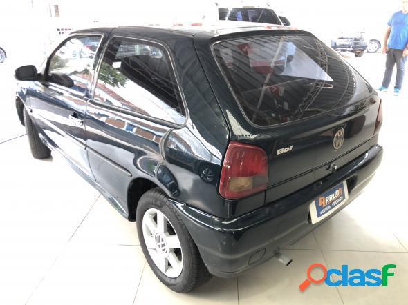 Volkswagen gol 1000 mi 2p 1000i verde 1999 1.0 gasolina