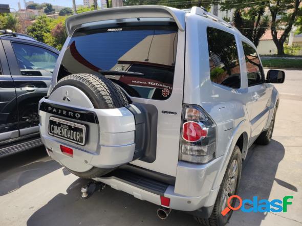 Mitsubishi pajero hpe full 3.8 v6 250cv 3p aut. prata 2011 3.8 gasolina
