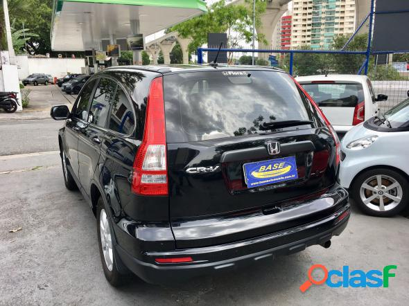 Honda cr-v lx 2.0 16v 2wd2.0 flexone aut. preto 2010 2.0 16v gasolina
