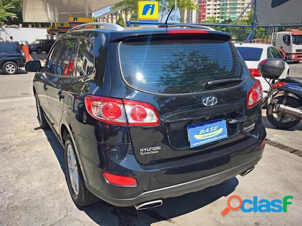 Hyundai santa fe gls 3.5 v6 4x4 tiptronic preto 2012 3.5 v6 gasolina e gas natural