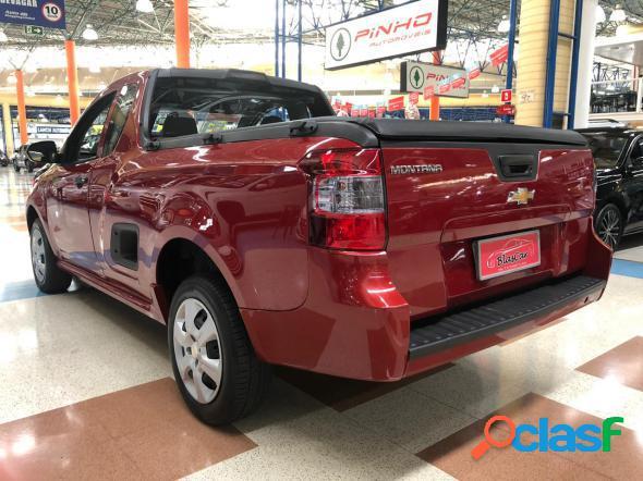 Chevrolet montana ls 1.4 econoflex 8v 2p vermelho 2019 1.4 flex