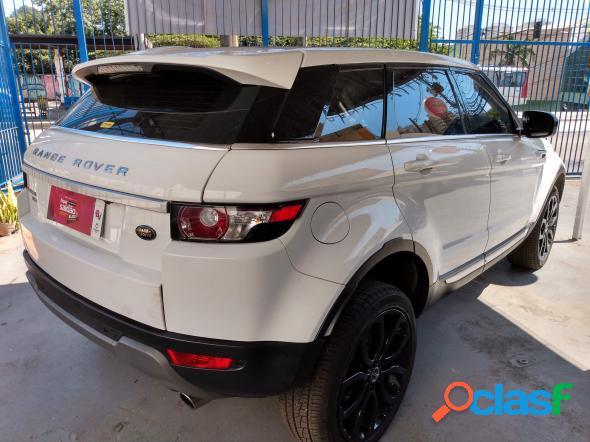 Land rover range r.evoque prestige 2.0 aut. 5p branco 2012 2.0 gasolina