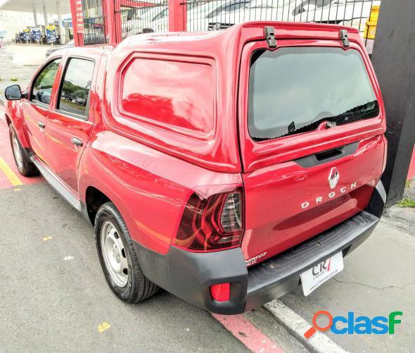 Renault duster oroch expression 1.6 flex 16v mec vermelho 2018 1.6 flex e gas natural