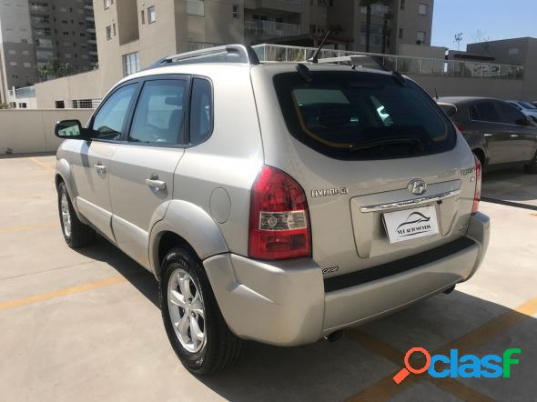 Hyundai tucson 2.7 mpfi 24v 175cv aut. prata 2008 2.7 gasolina