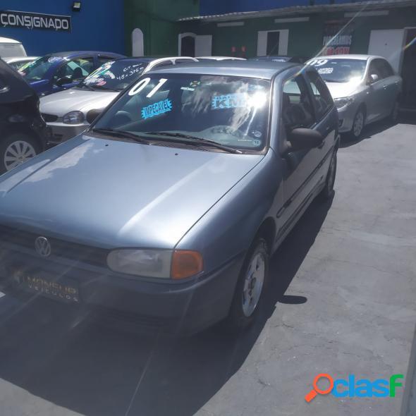 Volkswagen gol 1000 mi 2p 1000i cinza 2001 1.0 gasolina