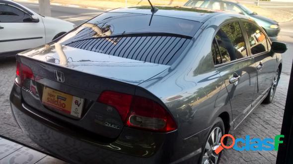 Honda civic sed. lxl lxl se 1.8 flex 16v aut. cinza 2011 1.8 flex