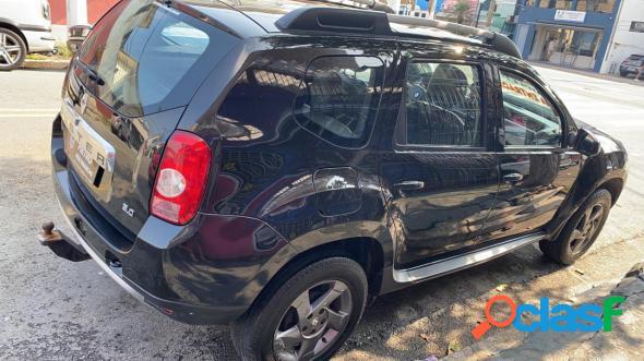 Renault duster dynamique 4x4 2.0 hi-flex 16v mec preto 2012 2.0 flex
