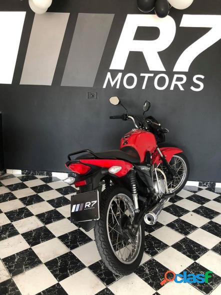 Honda cg 125 fan fan ks 125 i fan vermelho 2014 125 gasolina