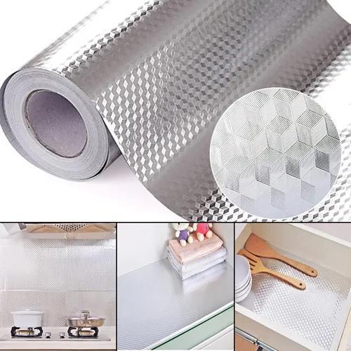 40x100 cm folha de alumínio auto adesivo papel de parede à