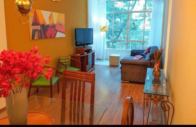 Apartamento de 3 quartos com vaga todo mobiliado copacabana!