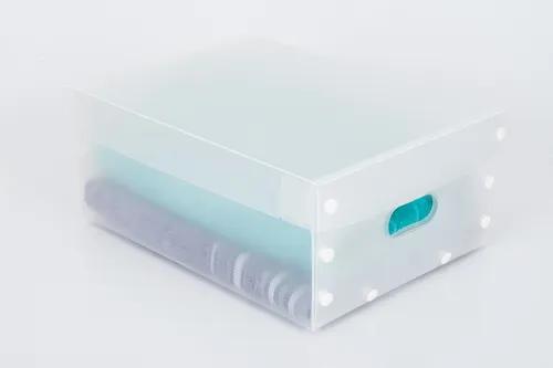 Caixa organizadora multiuso smart clean tamanho p