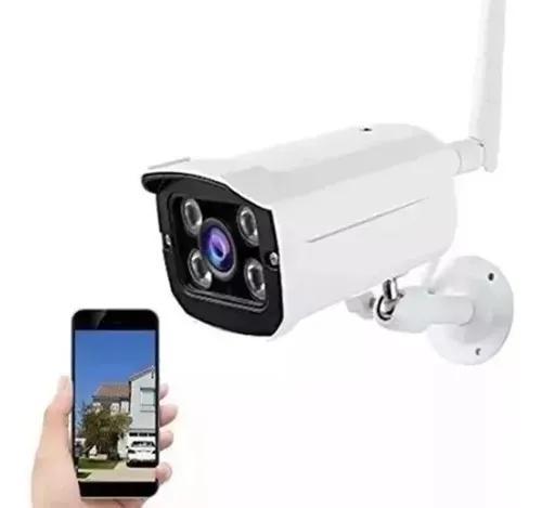 Câmera ip externa wifi prova d'água hd r