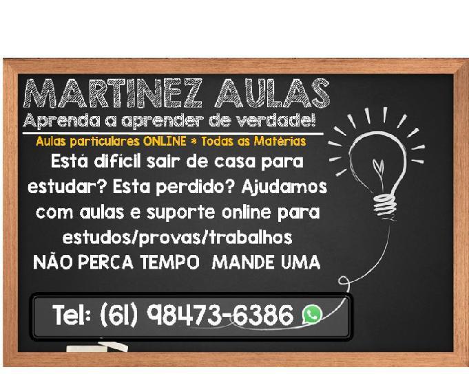 Martinez aulas - aulas particulares online