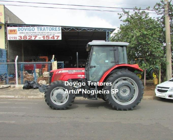 Massey ferguson 4291 4x4 cabinado ano:2010