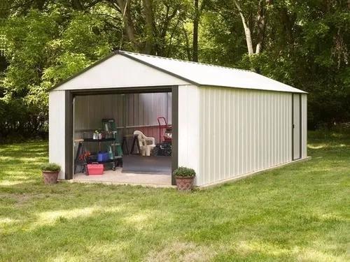 Mini galpão 3x6x2,5 m - scalatécnica / deposito / garag