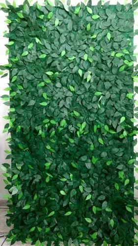 Muro inglês painel folhas de ficus 2,5 x 0,50 frete grátis
