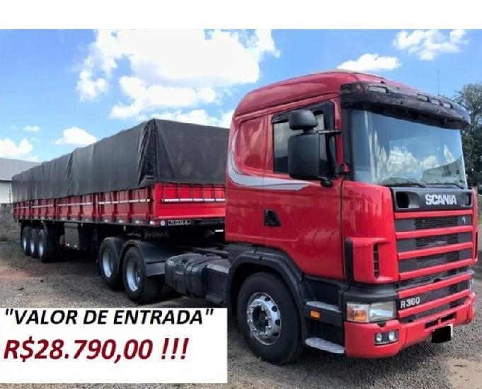 Scania p360 6x2 ano 2005 carreta ls