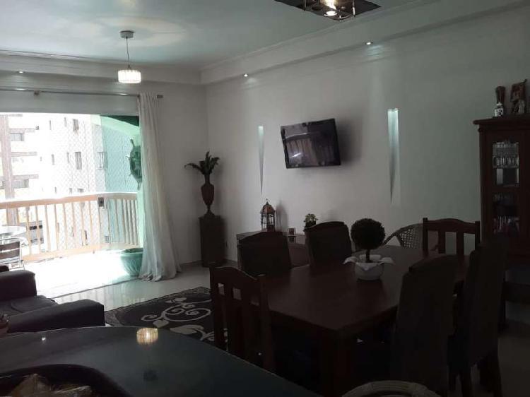 Vende se apartamento no guarujá de 110m² na pitangueiras