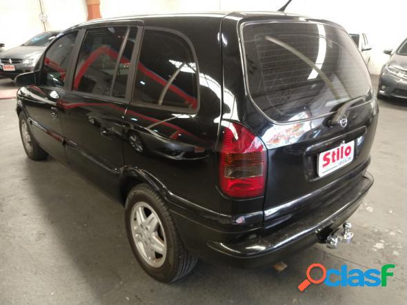 Chevrolet zafira 2.0 cd 2.0 8v mpfi 5p mec. preto 2001 2.0 gasolina