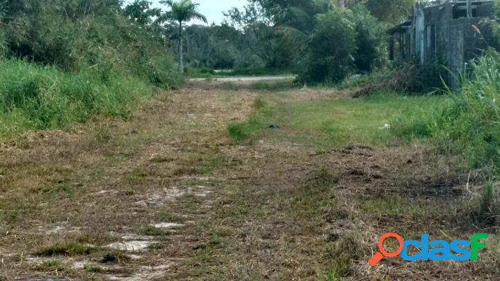 2 terrenos juntos em ilha comprida aceita parcelar