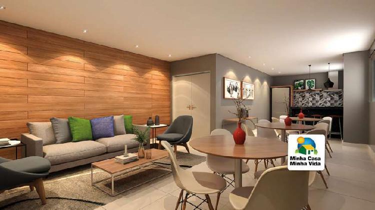 Apartamento para venda possui 42 metros quadrados com 2