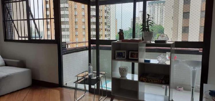 Apartamento venda 117 m² 3 quartos klabin , são paulo, sp