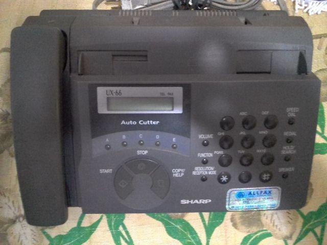Barbada aparelho de fax/telefone /copia / da marca sharp