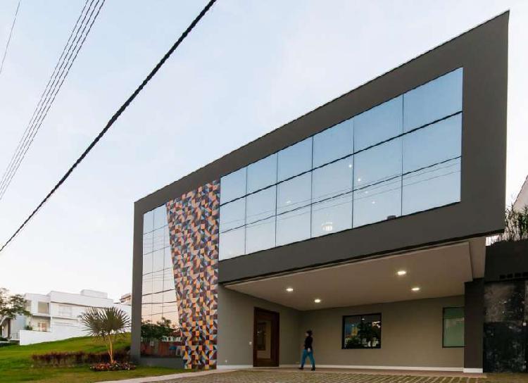 Casa de condomínio - swiss park com 490m² , 4 dormitórios